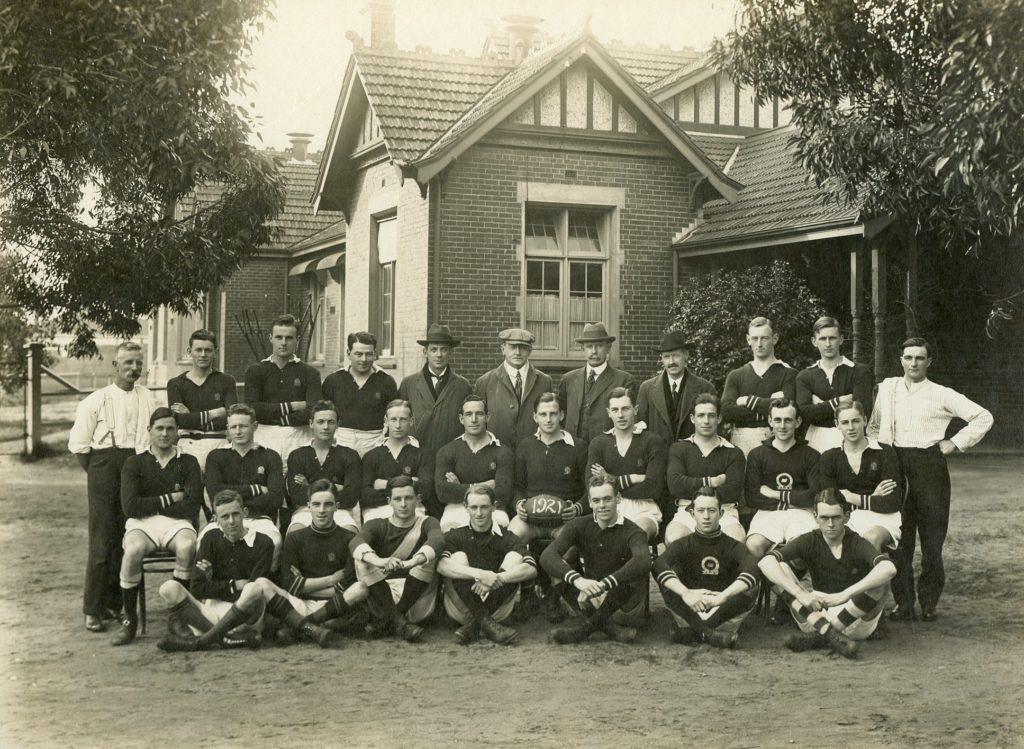 Caulfield Grammarians Football Club 1921