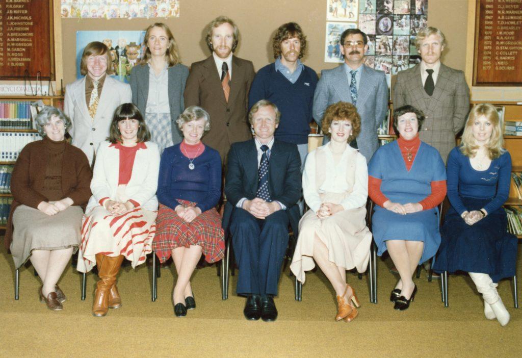 Shaw House Staff 1979