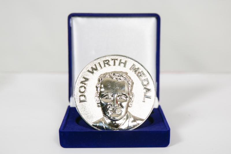 Don Wirth medal award