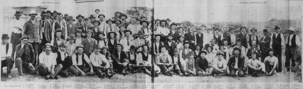 Walter Laishley - Bushmen Squadron