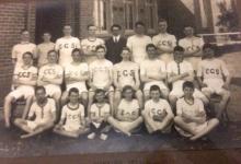 Richard H M Gibbs in 1911 Athletics Team