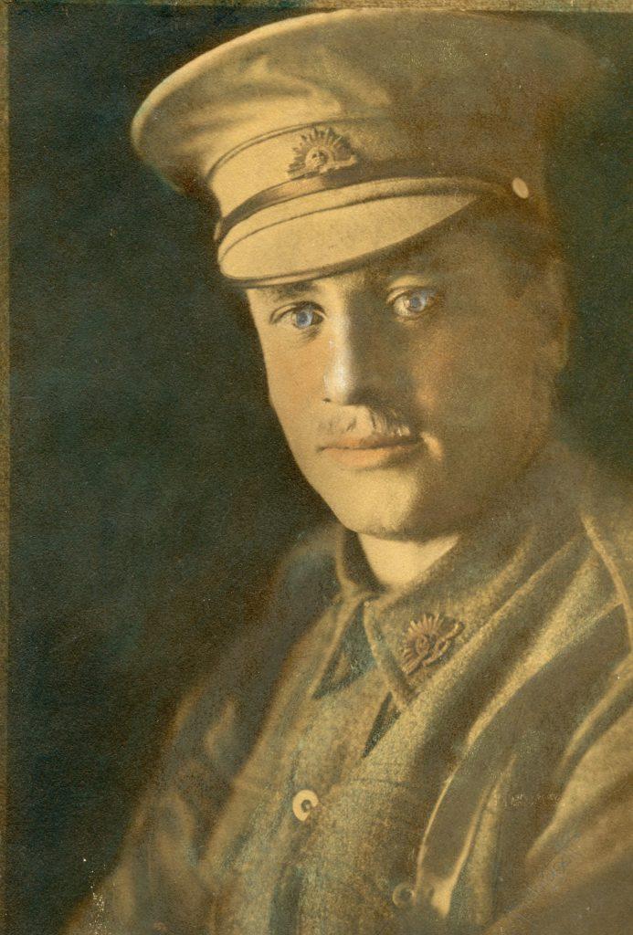 Richard H M Gibbs in uniform