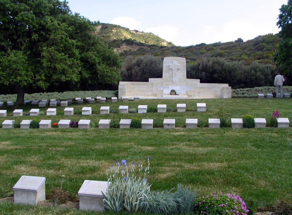 Ari Burnu Cemetery at Anzac Cove, Turkey. May 2006.