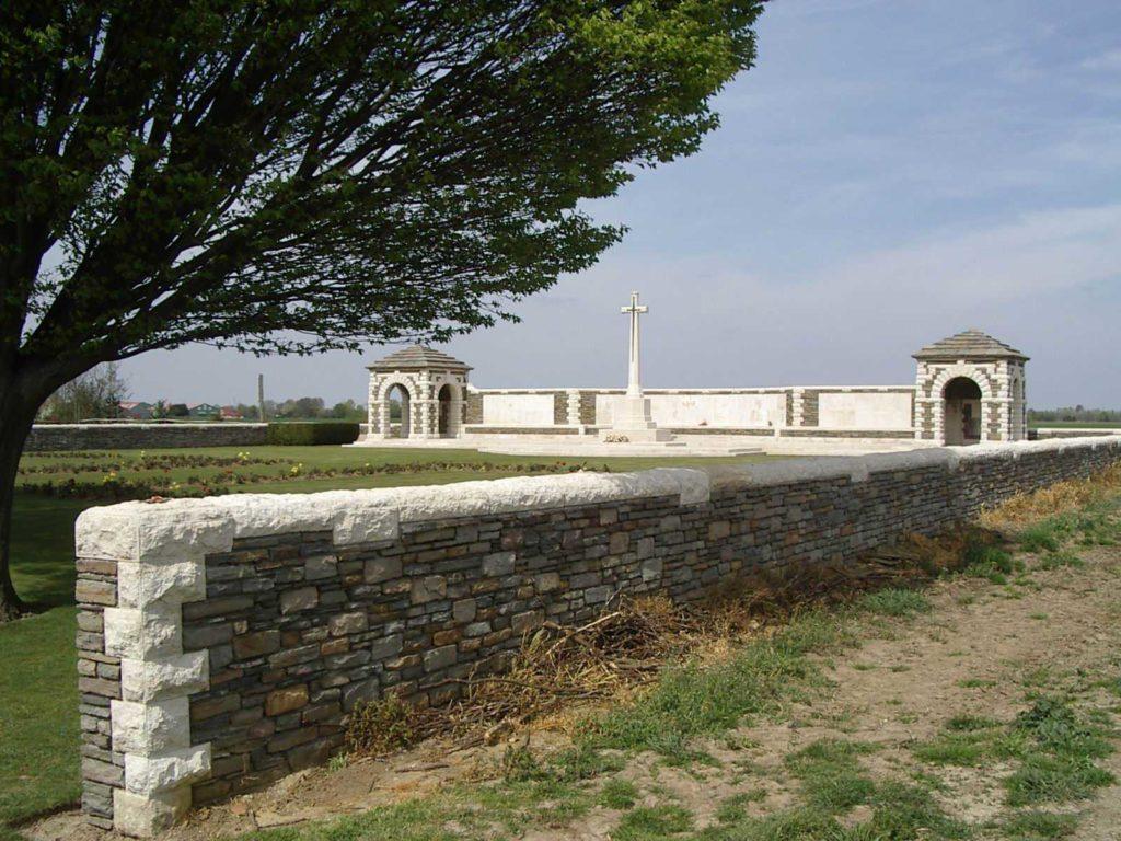 VC Corner, Australian Cemetery Memorial, Fromelles